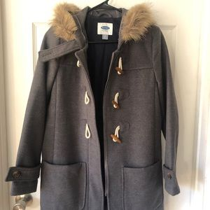 Old Navy Toggle Coat XS